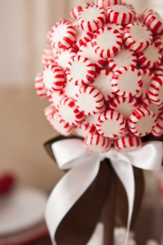 Peppermint Topiary Tree!
