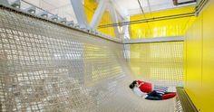 Stretch a ceiling hammock across it. - Pesquisa Google