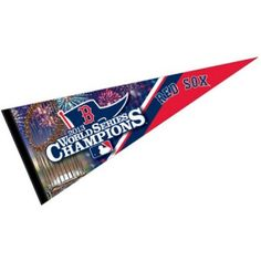 Red Sox 2013 World Champs Wool Pennant