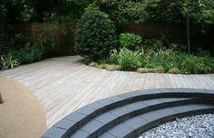 Garden Design in London by The Garden Builders, landscape design Deck Design, Landscape Design, Garden Design, Landscape Architecture, Small City Garden, Dream Garden, Patio Planters, Backyard Patio, Wooden Pathway