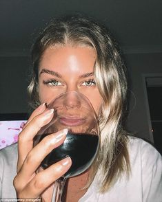 Skye Wheatley posts no makeup selfie Shes known for posting busty bikini and dolled-up snaps to social media. And on Saturday former Big Brother star Skye Wheatley 24 posted what she described as a no makeup picture. Taken to Instagram the one-time star posted an up-close and personal snap drinking a hefty glass of red wine while enjoying a night in with beau Lachlan Waugh. Not convinced! On Saturday former Big Brother star Skye Wheatley 24 posted a no makeup picture while looking completely…