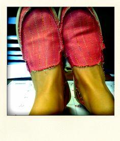 Sanuks > Toms- love the shoes!!!!