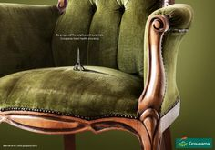 Groupama: new #printad #ad #advertising #marketing #groupama
