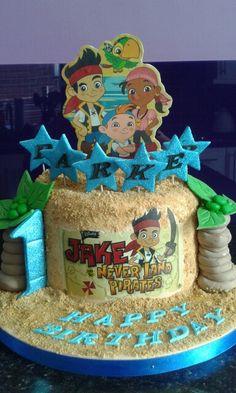 Jake & the Never land pirates Themed Cake