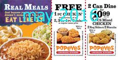 Popeyes Chicken Coupons Ends of Coupon Promo Codes JUNE 2020 ! Is chain the Miami, founded Popeyes headquarters was it In the is their. Kfc Coupons, Grocery Coupons, Online Coupons, Free Printable Coupons, Free Coupons, Free Printables, Healthy Baked Chicken, Baked Chicken Recipes, Worlds Best Chicken