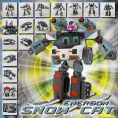 Transformers Universe - Energon Snow Cat...idea for Merbitogato based on director's thoughts