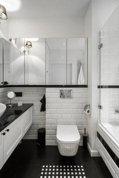 Warszawa - mieszkanie z nutką klasyki : Klasyczna łazienka od Art of home