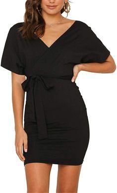 Eubell Fashion Women Spaghetti Straps Sleeveless Backless Solid Dress White