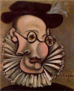 Pablo Picasso - Portrait of Jaime Sabartes as Grandee, 1939