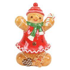 cookie jars | XMS10262 - GINGERBREAD COOKIE JAR - Opportunity Buys Inc Wholesale