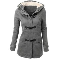 LE3NO Womens Classic Fully Lined Double Breasted Pea Coat Jacket ...