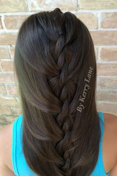 """Angel"" Rope Twist Braid"