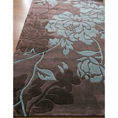 nuLOOM Bliss ACR45-508 Area Rug - Chocolate - Area Rugs at Hayneedle. Area rug, carpet, design, style, home decor, interior design,   pattern, trend, statement, summer, cozy, sale, discount, free   shipping.