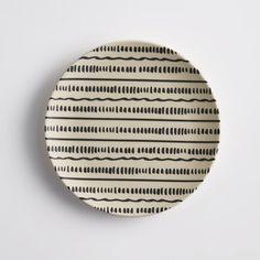 Image Set of 4 Bamboska Bamboo Dessert Plates La Redoute Interieurs