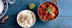 Tikka Masala - intialainen pata maustetulla riisillä - resepti - GoGreen
