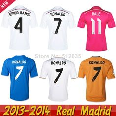 Free ship 2014 Best thailand quality Real Madrid jersey 14 15 Ronaldo bale  Benzema shirt Real Madrid 2015 pink soccer jersey 12 89e782c23