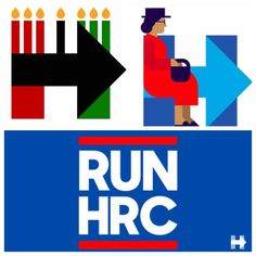 """""""Super questionable logos Hillary Clinton has used to secure black voters since announcing her candidacy this summer""""...""""Maybe in 2016 Hillary Clinton will reach out to me through policy like an intelligent voter rather than pop culture & social media pandering... Also, Hillary Clinton's past support of mass incarceration is fundamentally against the first principle of kwanzaa, umoja, or family unity."""" - Victoria M. Massie"""