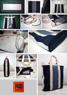 Relasé: Come cucire una borsa riciclando i jeans?