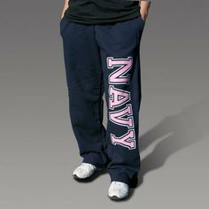 Cute NAVY sweatpants!