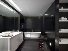 Same Tiles for Bathroom Walls and Floor