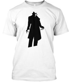 My new Nosferatu T-Shirt that is being made available at https://teespring.com/creepyNosferatu