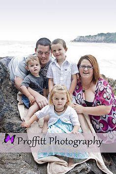 family photoshoot Nicol family