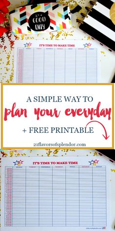 Time management with time blocking allows you to make time for the things we want and need to do. So take this simple and cute printable, and then go to work making time! Time Management Printable, Home Management Binder, Time Management Tips, Printable Planner, Free Printables, Journaling, Block Scheduling, Bullet Journal, Organize Your Life