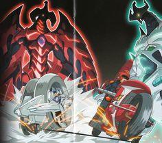 Yusei Fudo Shooting Star Dragon Amp Jack Atlas Red Nova