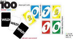 Allerlei spelletjes met uno kaarten