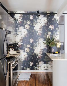 By Adding A Statement Wall In The Kitchen, The Space Will Become A Focal  Point
