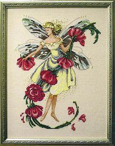 November Topaz Fairie (MD96) From Mirabilia Design - Nora Corbett - Cross Stitch Charts - Embroidery - Casa Cenina