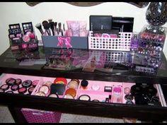 Le boudoir d'Ines: ♢ Comment ranger son make up quand on commence à avoir une collection conséquente? ♢