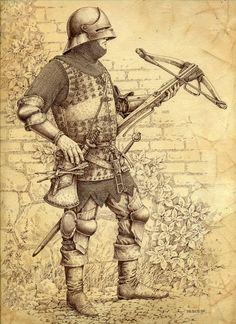 Арбалетчик 15 век- Михаил Иванов