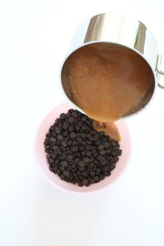 Súkkulaði/karmellu smjörrem Silky caramel frosting