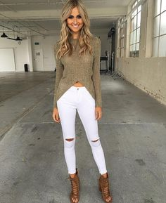 Khaki vibes  how cute is this new knit