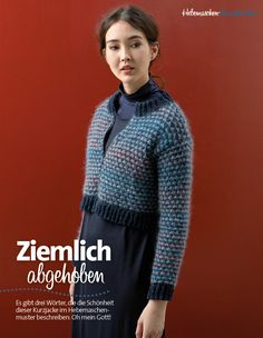 Strickanleitung Kurze Jacke Lang Yarns Style Edition 0216
