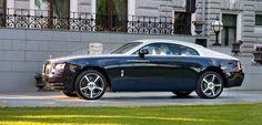 В Москве состоялся дебют Wraith от Rolls-Royce