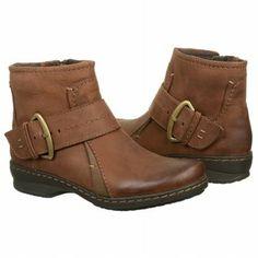 Women's Clarks Ideo Feast Dk Brown Oily Leathe Shoes.com