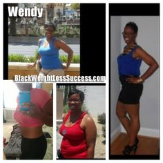Wendy lost 53 pounds : Black Weight Loss Success