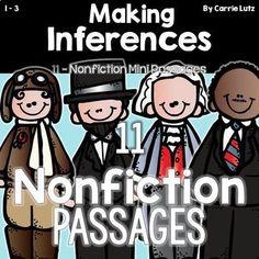 Making Inferences PASSAGES NONFICTION