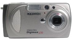 Samsung Digimax 430 4MP Digital Camera with 3x Optical Zoom  .