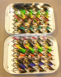 Wheatley with selection of Salmon Flies
