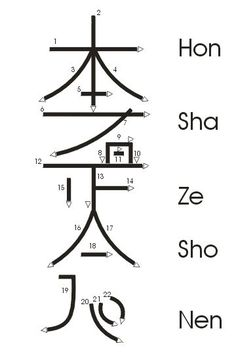 Great diagram on how to draw –Hon Sha Ze Sho Nen– The very powerful and somewhat complex, Reiki Symbol for Distance Healing. This is one to learn for it expands your healing potential greatly. Some teach to use also for self healing as well, so you handle Reiki Meditation, Simbolos Do Reiki, Le Reiki, Reiki Room, Reiki Chakra, Chakra Healing, Reiki Healer, Meditation Music, Crystal Healing