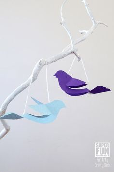 Arty Crafty Kids | Craft | Christmas Craft for Kids | Mini Peace Dove Ornament