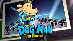 Dog Man: Mothering Heights Trailer | Dav Pilkey Dav Pilkey Dog Man, Dog Man Book, Oatmeal Packets, Book Trailers, Baked Oatmeal, Piece Of Cakes, Book Lovers, Sugar Free, Dishes