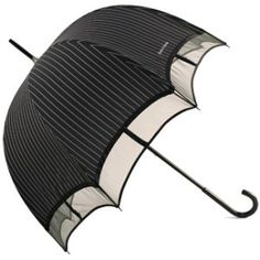 Chantal Thomass Pinstripe Dome Umbrella