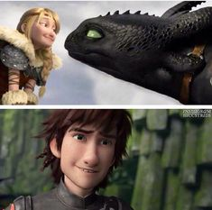 Hiccup's two treasures: the girl of his dreams and his best friend Httyd Dragons, Dreamworks Dragons, Disney And Dreamworks, Hicks Und Astrid, Dragon Sketch, Hiccup And Astrid, Dragon Rider, Arte Disney, Night Fury