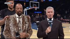 New party member! Tags: basketball nba brooklyn nets brook lopez clyde frazier cool suit cool jacket