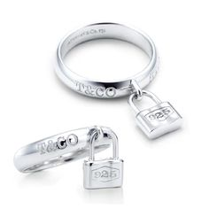 Tiffany & Co 1837 Lock Ring