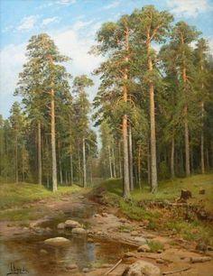 SIMEON FEDOROVICH FEDOROV (1867-1910) Forest Creek